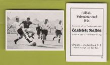 Hungary v West Germany Puskas 50